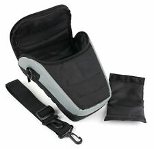 Dual Zip Adjustable Carry Pouch/Case For Sony DSLR-A390L, DSLR-A390Y SLR Camera