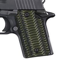 Sig Sauer P938 G10 Gun Grips OD Geen/Black OTR Texture,COOL HAND