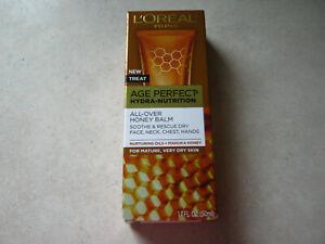 1 L'Oreal Age Perfect Hydra-Nutrition All Over Honey Balm 1.7 oz  EXP 5/21 NIB