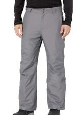 Columbia Bugaboo IV Waterproof Ski Snowboard Pants Mens XXL Short Gray 2xl