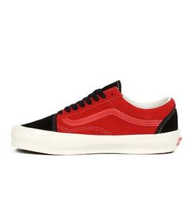 Vans Vault OG Old Skool LX Suede in Chili Pepper/Black VN0A4P3XC54 Size 8-12
