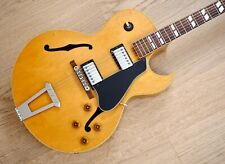 1989 Gibson ES-175D Archtop Electric Guitar Blonde, Mahogany Back & Sides, Case