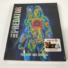 The Predator 2018 (Blu-Ray, DVD,Digital) Target Exclusive 36-Page Book Brand New