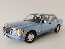 1 18 Norev Mercedes 560 Sel 1990 Lightblue-metallic