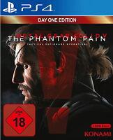 Metal Gear Solid 5 V Ps4  The Phantom Pain (Sony PlayStation 4) NEU OVP