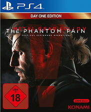 Metal Gear Solid 5 V ps4 the Phantom Pain (Sony PlayStation 4) nuevo embalaje original