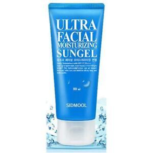 SIDMOOL Ultra Facial Moisturizing Sun Gel SPF37 PA+++ 80mL