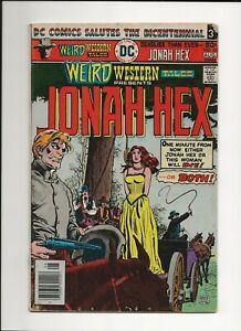 Weird Western Tales #35 1976 DC 70's Western Jonah Hex VG