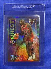 1995-96 TOPPS FINEST MICHAEL JORDAN MYSTERY BORDERLESS REFRACTOR M1 RARE INVEST