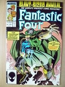 Comic- FANTASTIC FOUR, Annual Vol.1, No.20, June 1987 (Exc*)