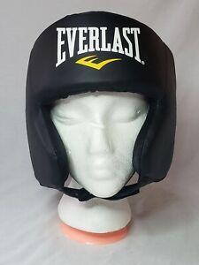 Everlast EverFresh Boxing Training Headgear Helmet Kick Fighting Wrestling Adj