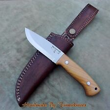 "7.75"" CUSTOM MADE 1095 STEEL BUSHCRAFT KNIFE