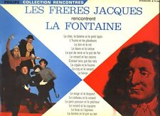 Les frères Jacques rencontrent La Fontaine  french LP Philips