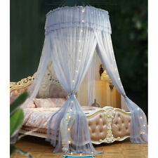 Double Bed Mosquito Net Canopy Tent Dome Bedcover Curtains Fly Insert Protect UK