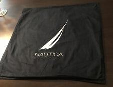 Nautica Navy Square Pillow Sham 18 x 18