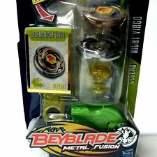 Rare HASBRO Beyblade METAL FUSION LEGEND NIGHT VIRGO DF145BS BB22 Figure Kid Toy