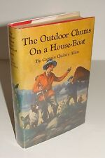 The Outdoor Chums On A House-Boat By Captain Allen 1st/THUS 1913 Goldsmith HC