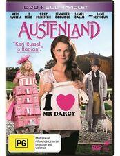 Austenland  (NEW DVD 2014 NEW RELEASE) COMEDY ROMANCE Keri Russell Region 2,4,5
