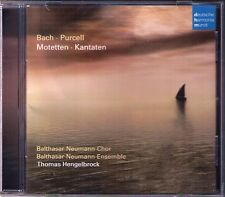 JS, JL Bach motet cantata Purcell Funeral Music Queen Mary Thomas Hengelbrock CD