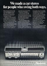 1972 Panasonic FM 8 Car Stereo Radio - Classic Vintage Car Advertisement Ad J23