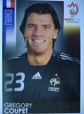 PANINI 338 Gregory Coupet France UEFA Euro 2008 austria-switzerland