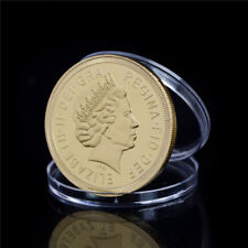 Golden Plated Welsh Northern Ireland Scotland Coin Commemorative CoinCollectioWC