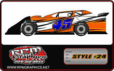 Race Car Wraps,imca,4 cyl,streetstock,late model,openwheels, graphics, wrap, ect