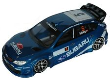 1:10 RC Clear Lexan Body Subaru Impreza WRC08 190mm Electric racing shell Colt#
