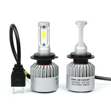 2 x H7 525 8000LM LED CREE Luz Kit Faro Delantero Coche Lámparas De Haz Luces