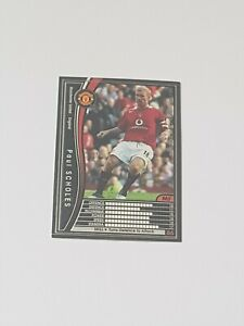 Manchester United - Paul Scholes - 2005-06 Panini WCCF Trading Card