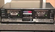 SONY TC-WR730 Stereo Dual Cassette Deck - 1986 - DEMO VIDEO