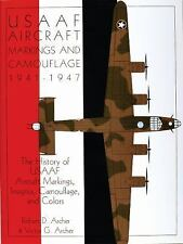 Book - USAAF Aircraft Markings and Camouflage 1941-1947