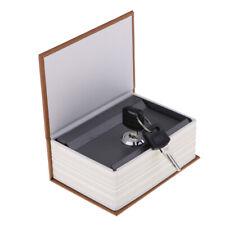 Book Safe Mit Lock Dictionary Diversion Geheimtresoren mitSchlüsseln Kaffee
