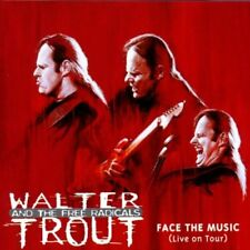 WALTER TROUT FACE THE MUSIC LIVE ON TOUR 2000 CD BLUES NEW