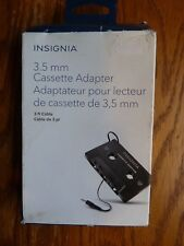 New listing Insignia 3ft Cassette tape adapter