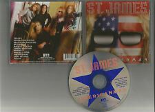 ST.JAMES - Americanman CD RARE HARD SLEAZE ROCK Jamie ST. James ADRIAN DODZ RAM