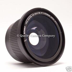 Bower 58mm Fisheye/Macro Attachment - Pro Digital HD DSLR MC AF, SCREW-ON FUN!!!