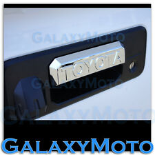 14-15 TOYOTA TUNDRA Double Cab Triple Chrome Tailgate Handle Lever cover 2014