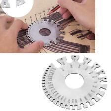 Stainless Steel Round Wire Gauge 0-36 Standard Measuring Gauge Diameter Tool