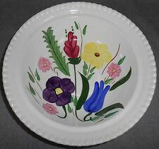 BLUE RIDGE Handpainted MOUNTAIN NOSEGAY PATT'N Candlewick VEGETABLE/SERVING BOWL
