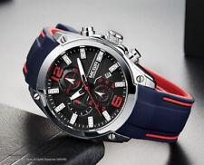 Montre De Luxe Sport Top Qualité Homme Mégir Silicone Date Chronograph Etanche