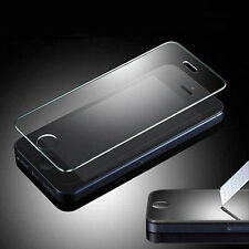 2x Real Genuine Premium Clear Tempered Glass Film Screen Protector For iPhone 5S
