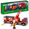 BRIO World 33811 Emergency Fire Engine for Wooden Train Set