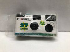 Vintage Bell Howell Disposable Camera 35mm Color 27 Exposures BH150 ISO 400