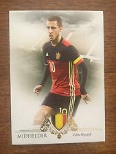 2016 Unique Futera Soccer Card - Belgium EDEN HAZARD Mint
