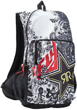 Fly Racing Rockstar Jump Backpack Black/White White/Black 28-5149