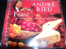 Andre Rieu / Andre's Choice Feast If Music Be The Food Of Love CD - New