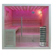 EO-SPA Sauna E1102C Pappelholz 180x150 9kW Cilindro