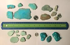 TURQUOISE ROUGH in SLABS, NUGGETS, and PIECES  240grams