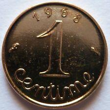 1 Centime Epi 1968 plaqué Or. Pour faire un cadeau. Souvenir du Franc de 50 ans